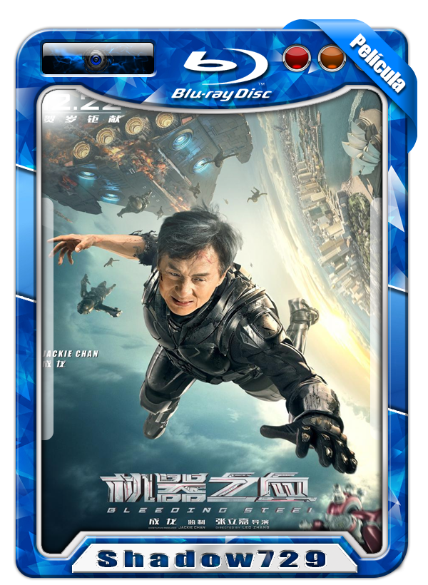 Bleeding Steel (2017) | Enemigo Inmortal 720p H264 Dual Mega
