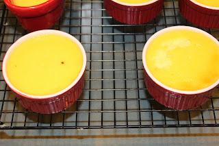 caramel custard vanilla bean dessert pudding