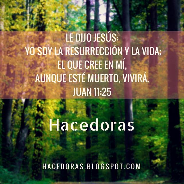 hay vida en Cristo