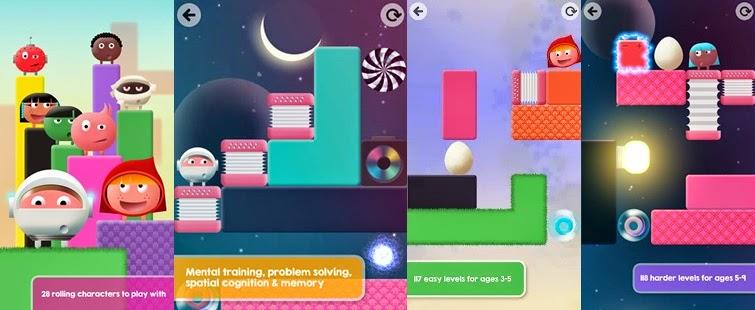 Thinkrolls 2 Android award winner app