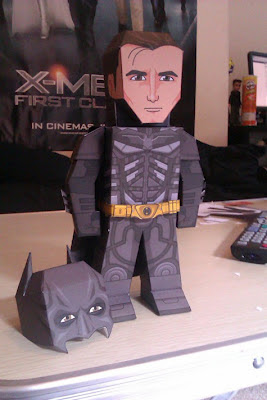 The Dark Knight Rises Batman Papercraft-1