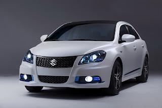 2011 Suzuki Kizashi EcoCharge Concept unveiled at the NYIAS