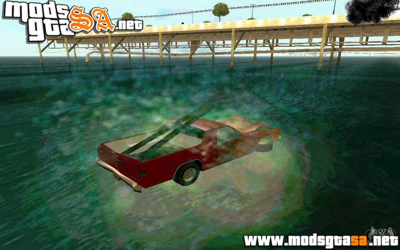SA - Mod Andar de Carro na Água