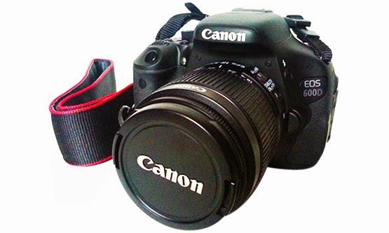 Harga dan Spesifikasi Kamera DSLR Canon EOS 600D Terbaru