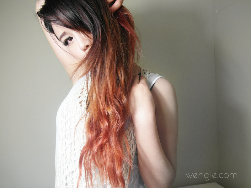 Ombre hair and chemical free tinting! – Tutorial! – The Wonderful ...