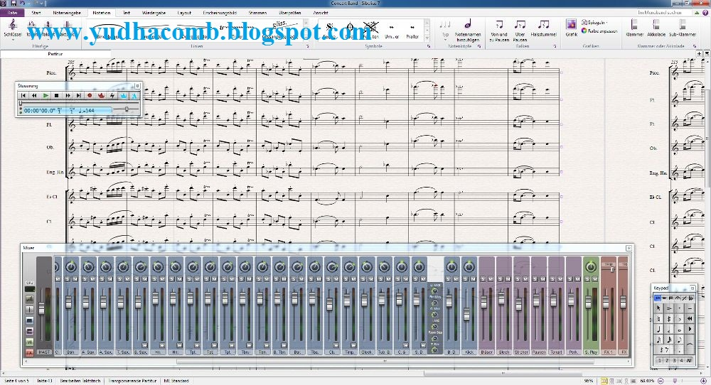 Avid Sibelius 7 5 1 Build 2 9 (Rus|ML) + ключ - 2 Октября 2 14