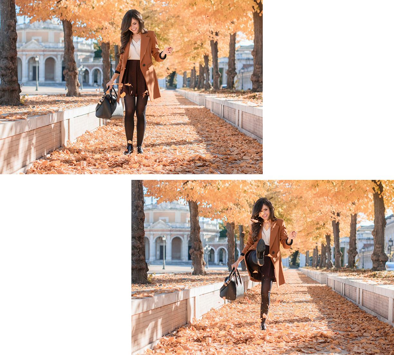 Total look de Zara en Aranjuez