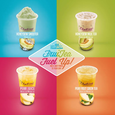 FruiTea Fuel Up! series – four brand new delightful flavours Honeydew and Pear