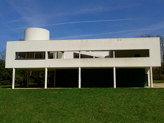 This is my museum villa savoye poissy france - Villa savoye poissy francia ...