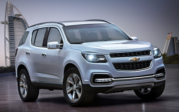 chevrolet trailblazer 2013 Chevrolet Trailblazer Indonesia 2013 Mobil SUV Terbaru