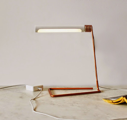 Coil Lamp by Castor