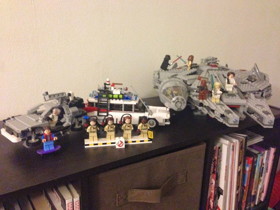 lego star wars back to the future ghostbusters