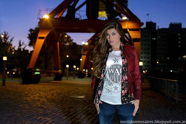 Moda invierno 2014 Mujer - AF Jeans otoño invierno 2014.