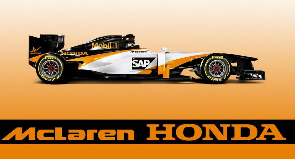 2015 McLaren Honda Livery