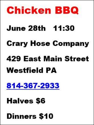 6-28 Chicken BBQ Westfield