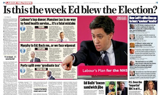 Labour Miliband media newspaper