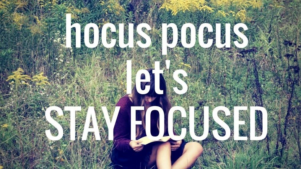 koncentracja focus skupienie stay focused