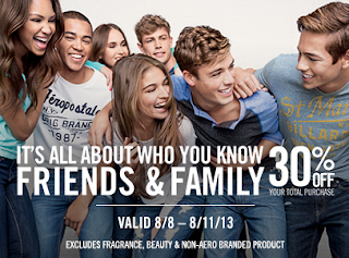 30% off aeropostale printable coupon august 2013