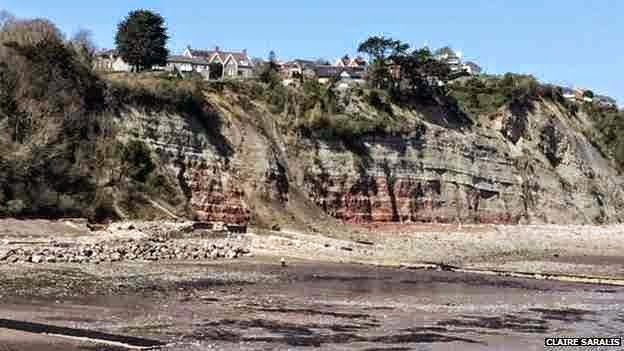 http://sciencythoughts.blogspot.co.uk/2014/04/rockfall-at-penarth-cliffs.html