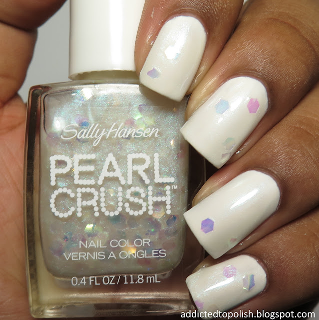 sally hansen oyster it up pearl crush