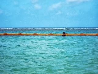 「トロピカルビーチ」の海水浴場の写真