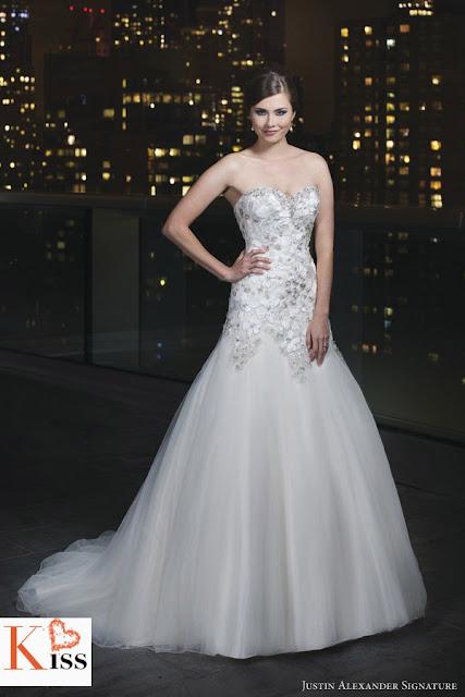 Justin Alexander 2014 Wedding Dress