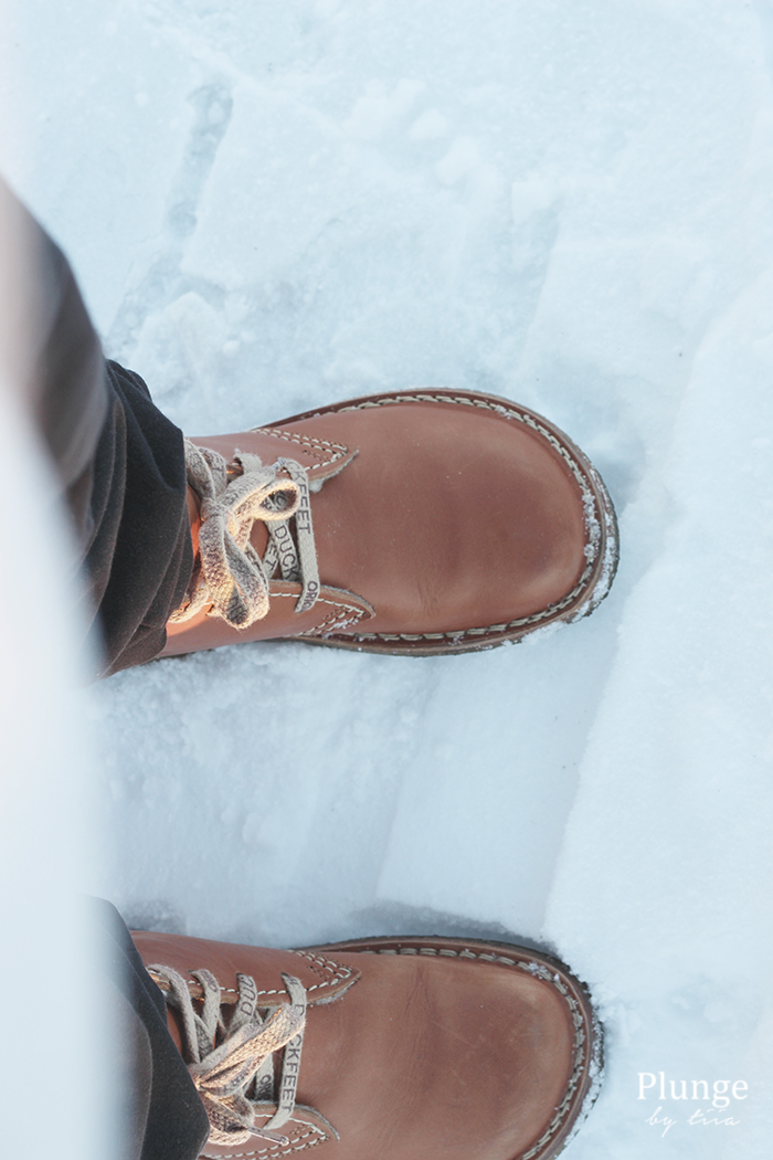 Duckfeet boots