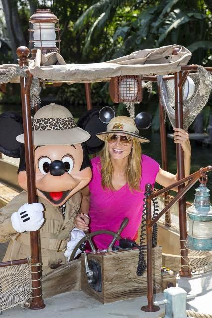 Heidi Klum - 60 anos Disney Land