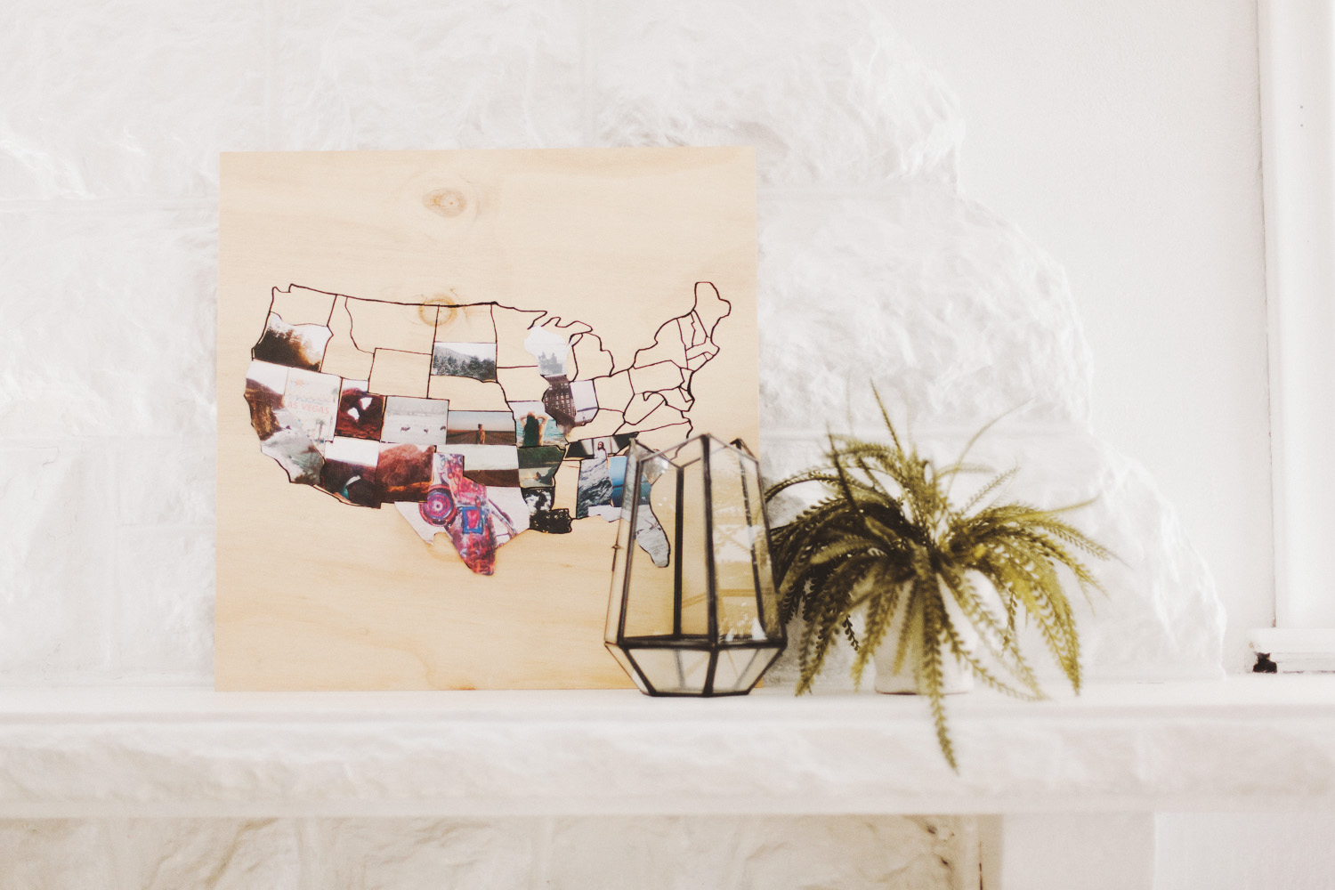 today im partnering with canon usa to make a wooden travel map diy if you know me well at all you know nothing excites me more than the chance to travel