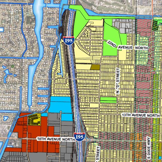 Planning & Zoning. Examine City of Lake Worth's. Click on map: