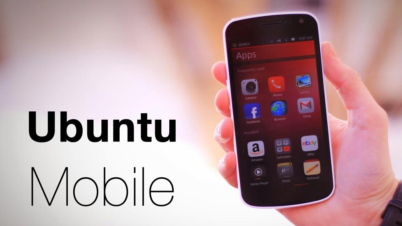 أوبنتو موبايل، هاتف أوبنتو، Ubuntu mobile