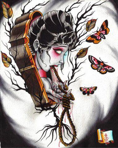 Tatuajes De Ata&250des Tradicionales  Belagoria La Web Los
