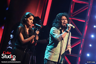 Shruti Pathak at Coke Studio MTV india