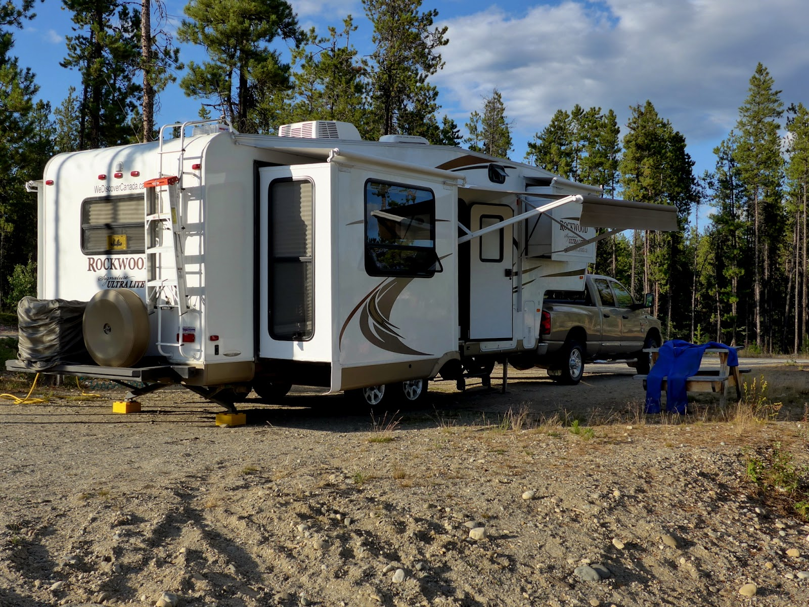 Camped at Baby Nugget City RV Park.