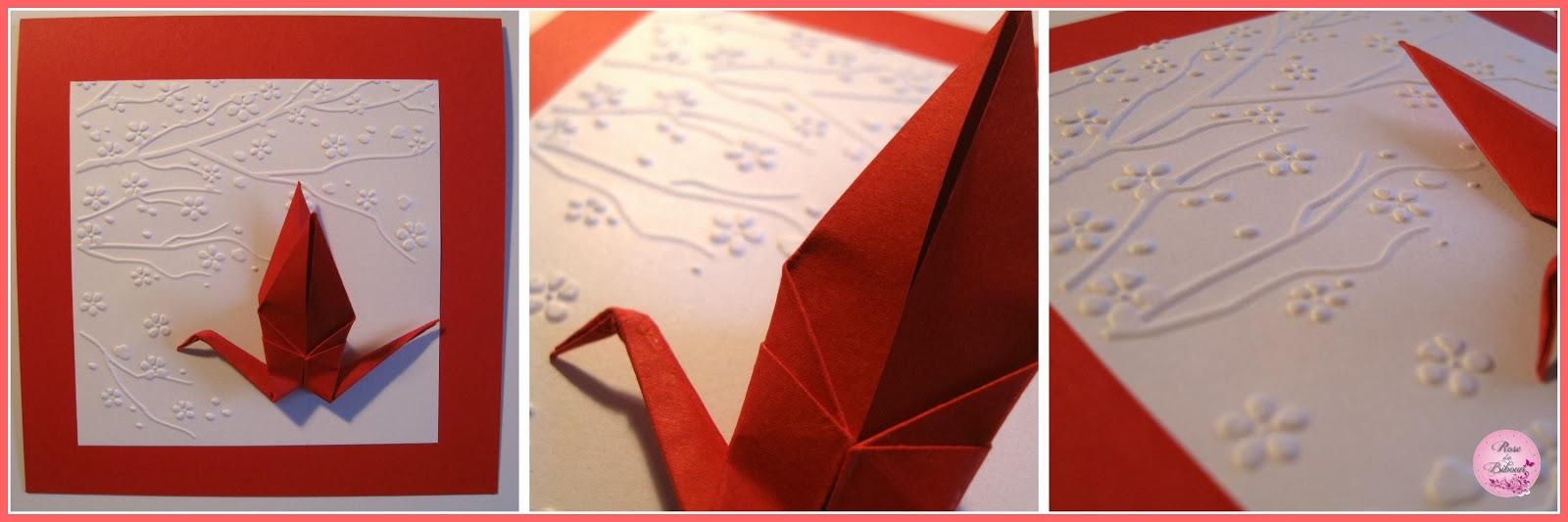Fabuleux Rose de Biboun: Faire-part de mariage et origami XP19