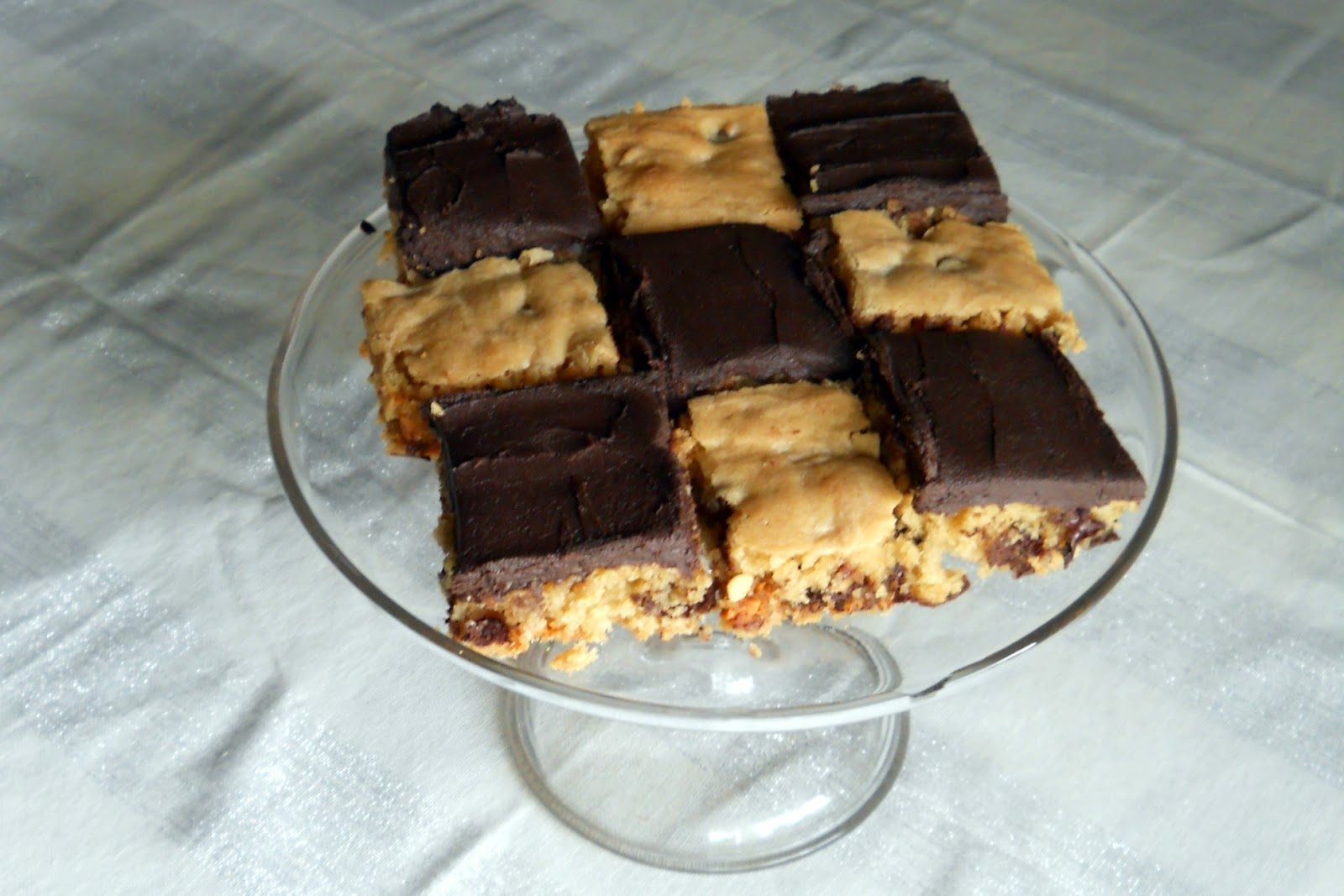 Lombardo Lagniappe: Peanut Butter Blondies with Chocolate ...