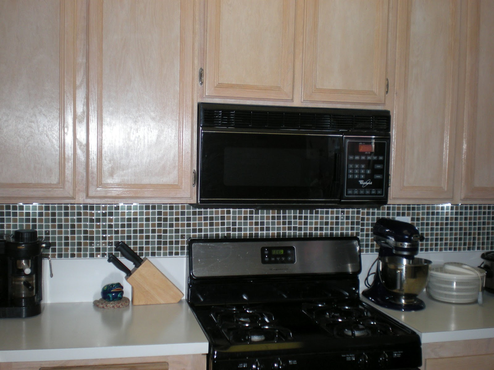 Laminate Countertop with Tile Backsplash
