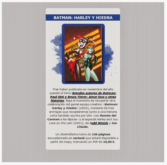 Harley y Hiedra - Paul Dini - Bruce Timm
