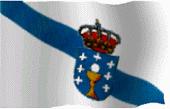 Información sobre o estatuto, a bandeira  e o himno galegos.
