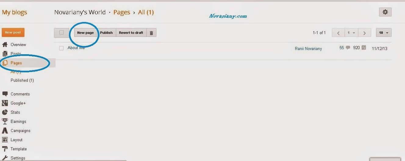 tutor sederhana blogging