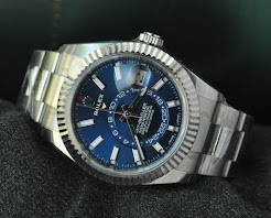 Rolex Sky Dweller Blue . 5years warranty