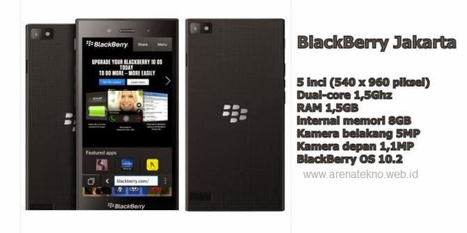 BlackBerry Z3 Jakarta Resmi Akan Hadir Di Indonesia