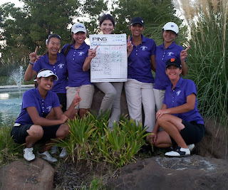 Franklin women win DVC golf title