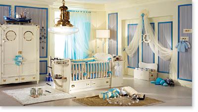 habitación infantil marinero