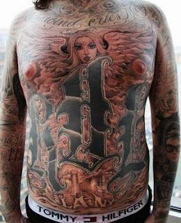 Badass Tattoos, Tattooing