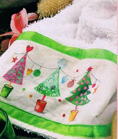 Toallas navide as cositasconmesh - Secador de toallas ...