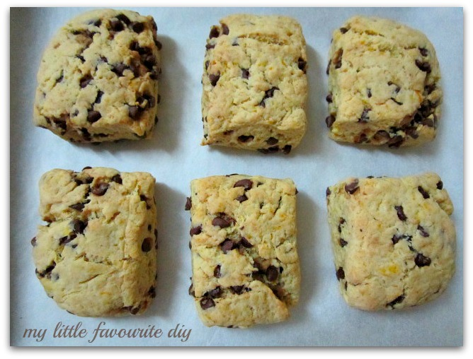... DIY: Bake Along # 27 ~ Orange and Dark Chocolate Buttermilk Scones