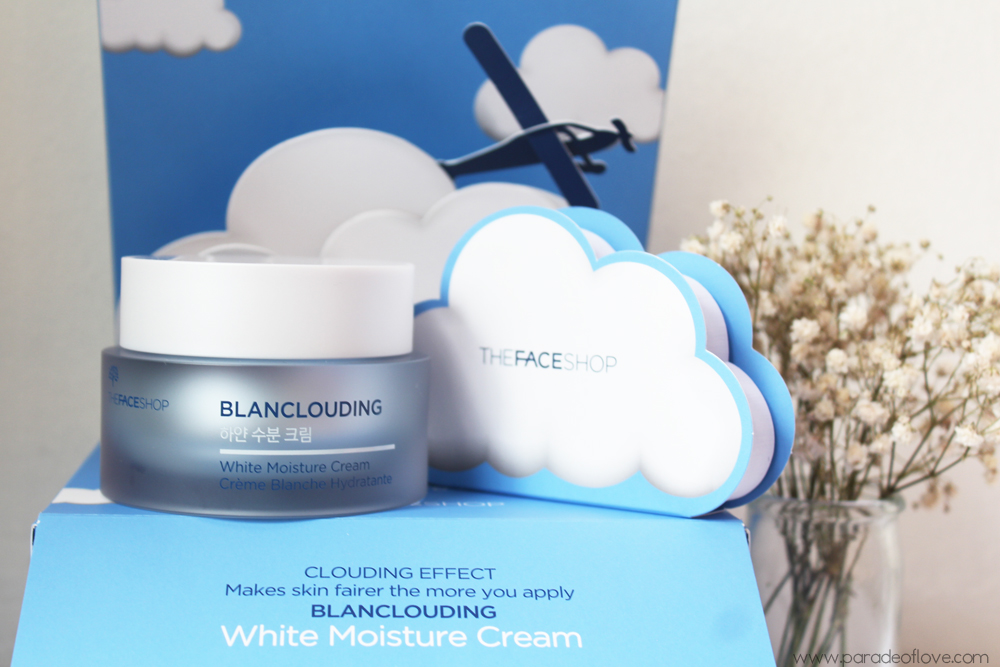 THEFACESHOP's Blanclouding White Moisture Cream