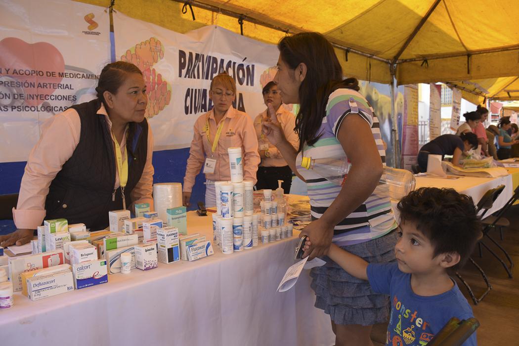 SE OFRECEN SERVICIOS A LA POBLACION CON EL PROGRAMA PARTICIPACION CIUDADANA