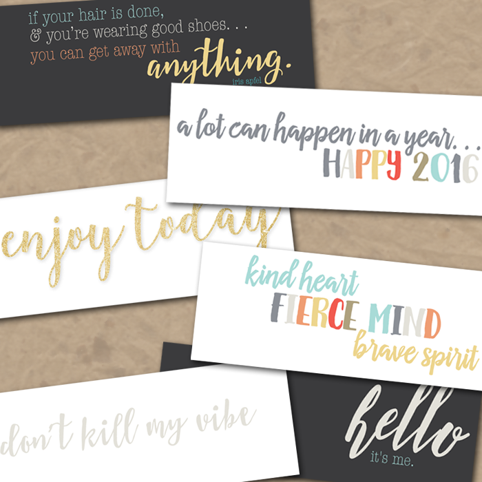 Free New Years Timeline Covers | 8 fun/inspirational designs  for your Facebook timeline | Instant Downloads